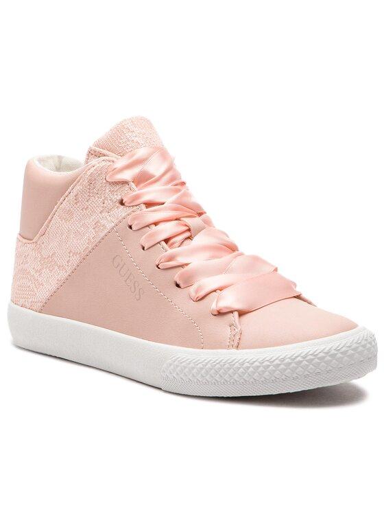 Guess Guess Sneakersy Marty FJMRT3 ELE12 Růžová
