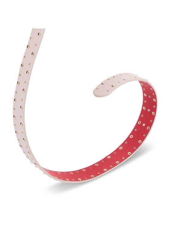 Liu Jo Liu Jo Dámský pásek 3 Cm Belt Gioia A68230 E0027 Růžová