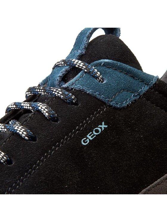 Geox Geox Poltopánky D Kander B D540LB 00022 C9270 Čierna