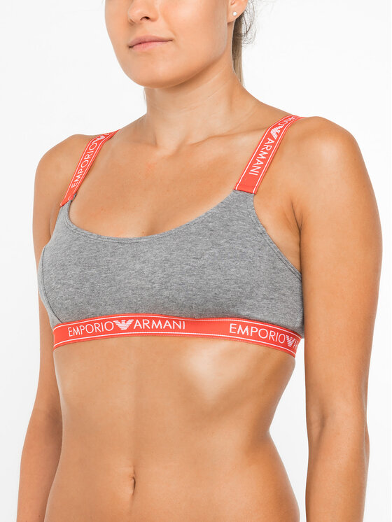 Emporio Armani Underwear Emporio Armani Underwear Melltartó felső 163651 9A317 06749 Szürke