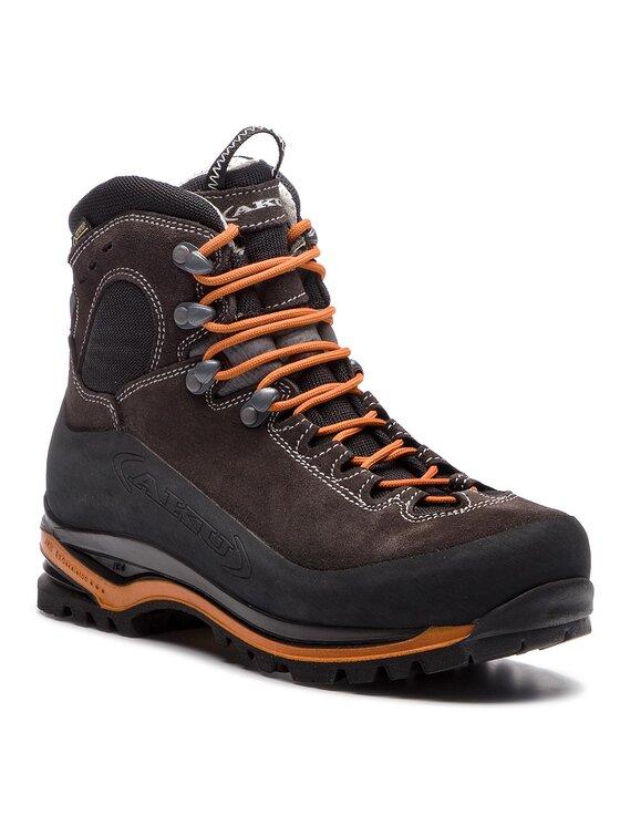 Aku Turistiniai batai Superalp Gtx GORE-TEX 593 Juoda