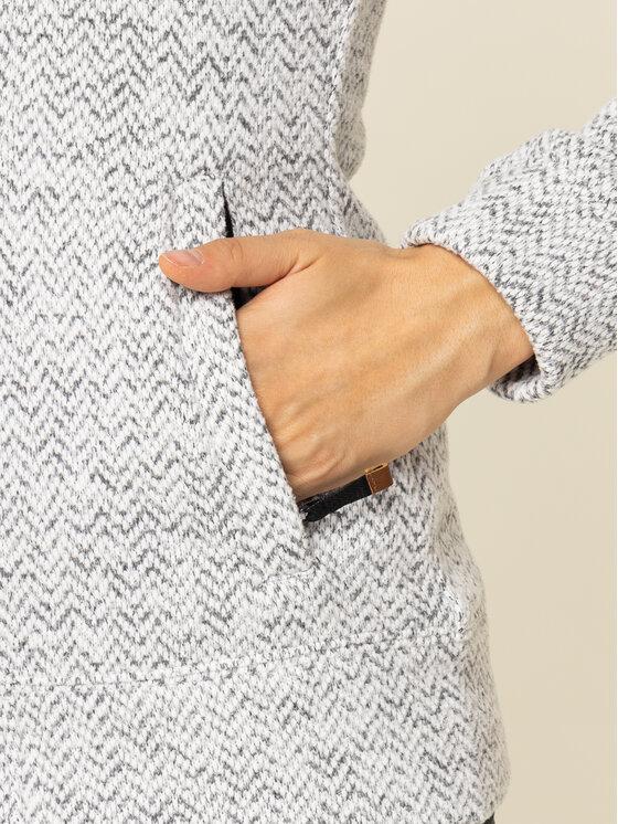 Roxy Roxy Μπλούζα τεχνική Doe ERJFT03968 Γκρι Fitted Fit