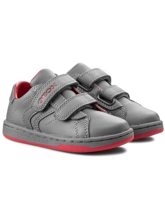 Geox Geox Κλειστά παπούτσια J Maltin B.A J42G3A 00043 C9002 Γκρι