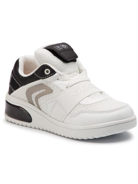 Geox Geox Sneakersy J Xled B. B J927QB 01454 C0404 S Bílá