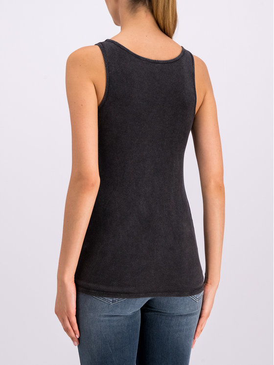 Guess Guess Top W92I92 K1812 Sivá Slim Fit