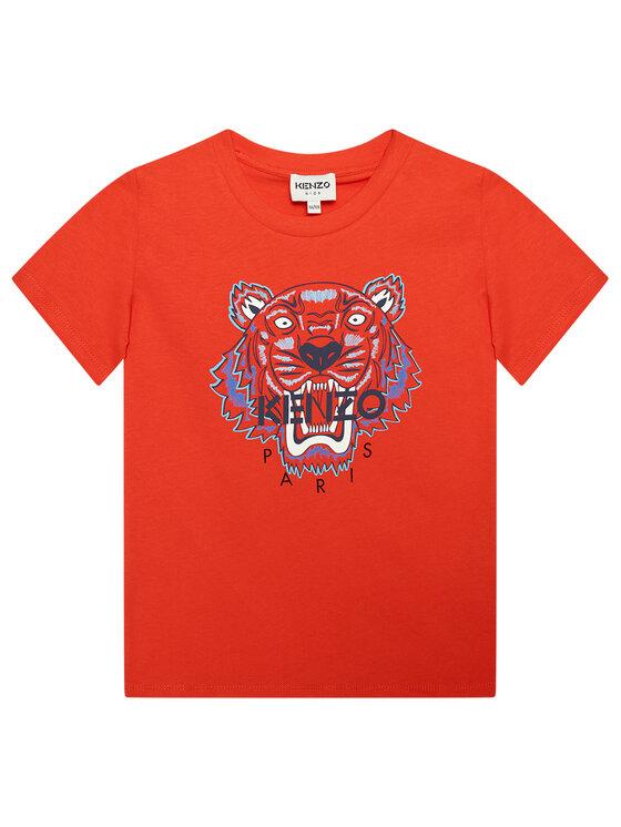 Kenzo Kids Marškinėliai K25100 D Raudona Regular Fit