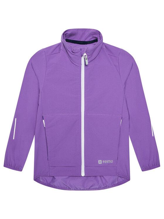 Reima Demisezoninė striukė Mantereet 531489 Violetinė Regular Fit