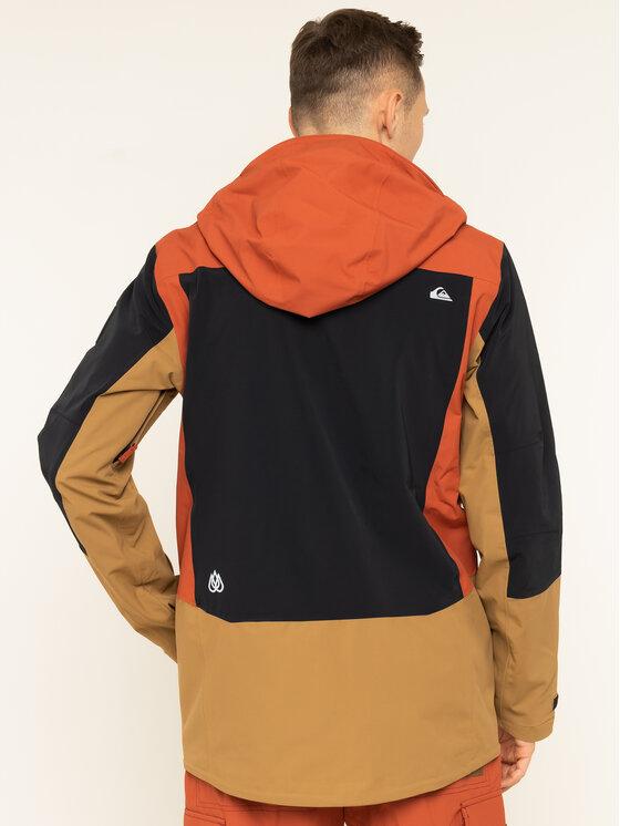 Quiksilver Quiksilver Snowboard kabát Travis EQYTJ03231 Narancssárga Modern Fit