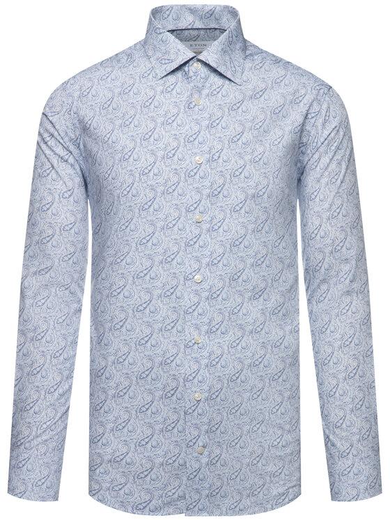 Eton Eton Košile 100000509 Bílá Slim Fit