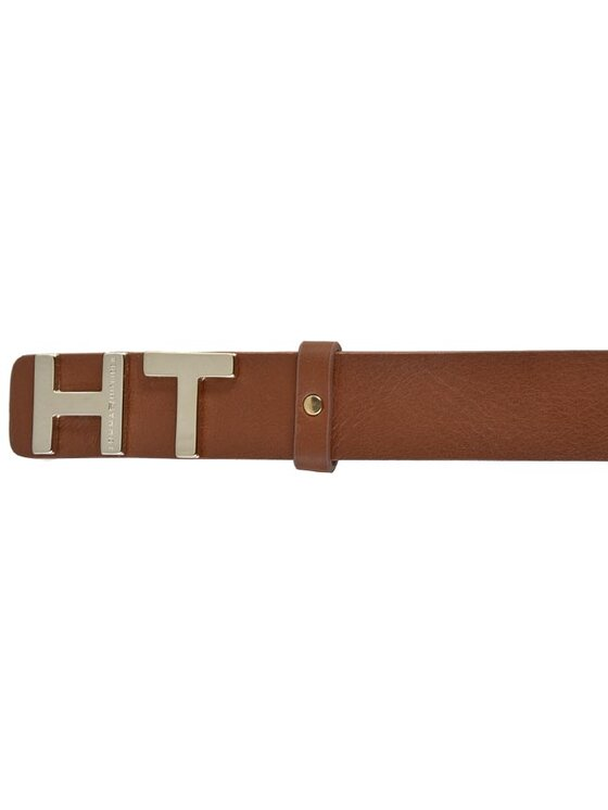 TOMMY HILFIGER TOMMY HILFIGER Ζώνη Γυναικεία The Belt 3,0 AW0AW01611 75 Καφέ