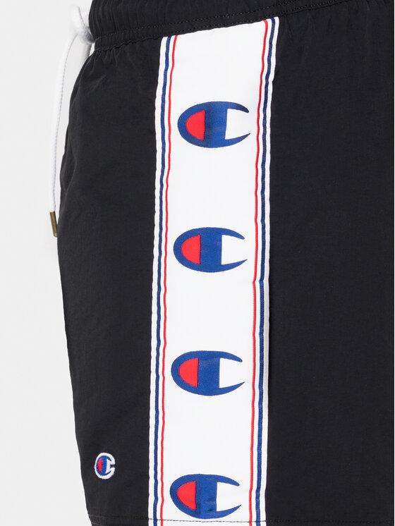 Champion Champion Plavecké šortky 213116 Čierna Regular Fit