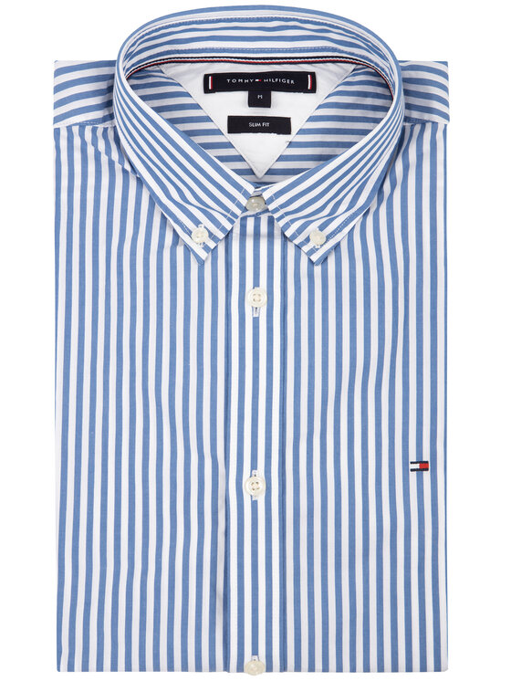 Tommy Hilfiger Tommy Hilfiger Риза Hyper Classic Stripe MW0MW12209 Цветен Slim Fit