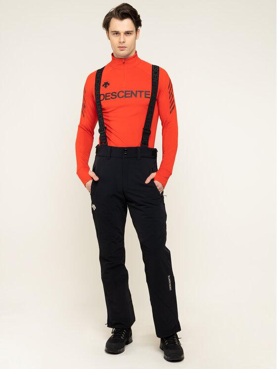 Descente Slidinėjimo kelnės Swiss DWMOGD20 Juoda Tailored Fit