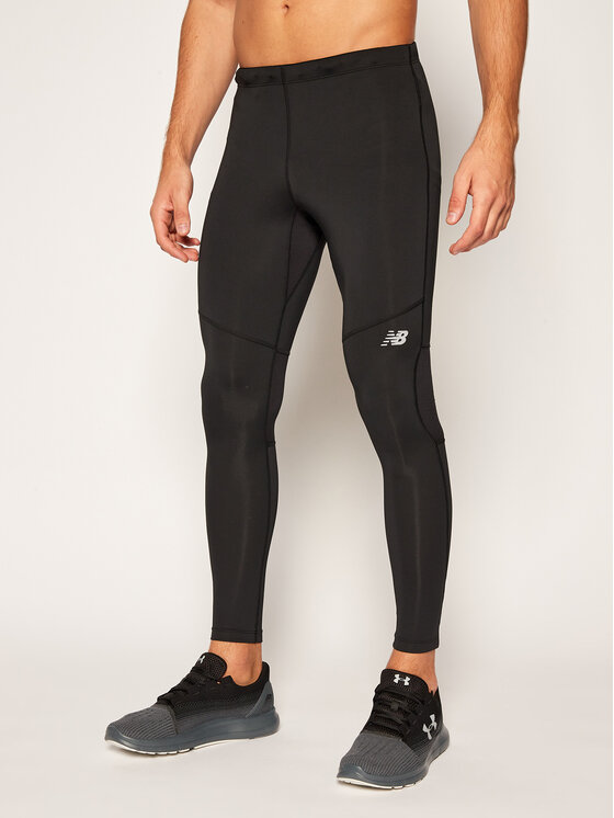 New Balance New Balance Legginsy Core Tight NBMP8192 Czarny Slim Fit