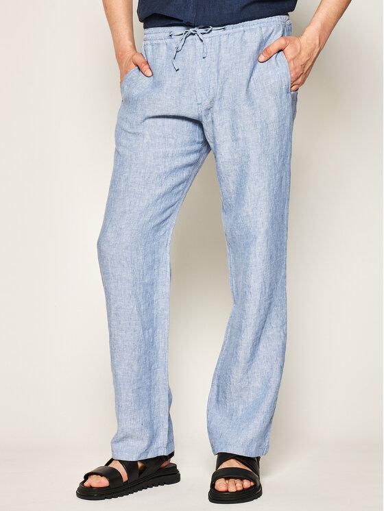 Joop! Joop! Spodnie materiałowe 15 Jjf-69Rimon-W 30020899 Niebieski Regular Fit