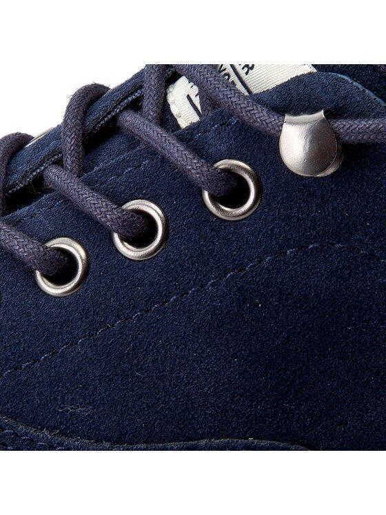 Tommy Hilfiger Tommy Hilfiger Sneakers aus Stoff Yarmouth 1B FM0FM00661 Dunkelblau