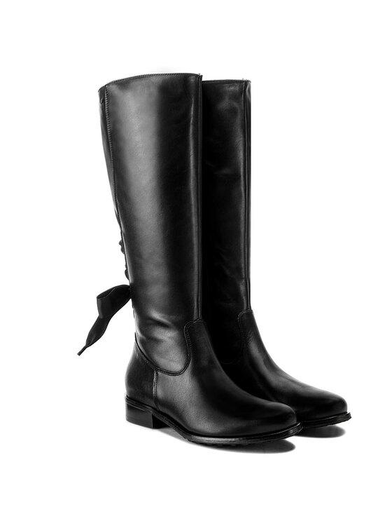Wojas Wojas Klassische Stiefel 7726-51 Schwarz