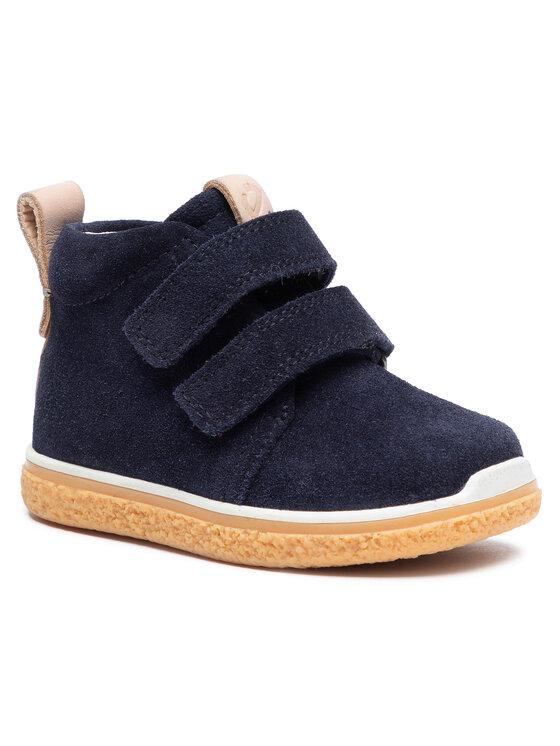 ECCO Auliniai batai Crepetray Mini 75346105303 Tamsiai mėlyna