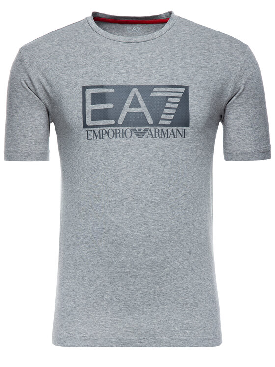 EA7 Emporio Armani EA7 Emporio Armani T-shirt 3GPT62 PJ03Z 3905 Gris Regular Fit
