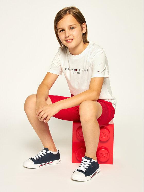 Tommy Hilfiger Tommy Hilfiger T-Shirt Essential KB0KB05627 D Λευκό Regular Fit