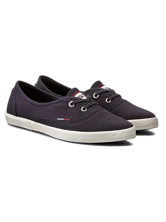 Tommy Hilfiger Tommy Hilfiger Sneakers aus Stoff Johanna 1D EN56821000 Dunkelblau