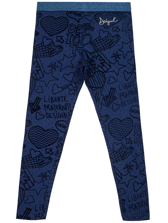 Desigual Desigual Pantaloni di tessuto Aristoteles 19WGKK03 Blu scuro Slim Fit