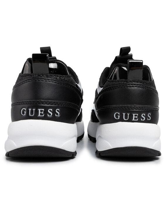 Guess Guess Sneakersy Kaysie FL8KAE ELE12 Černá