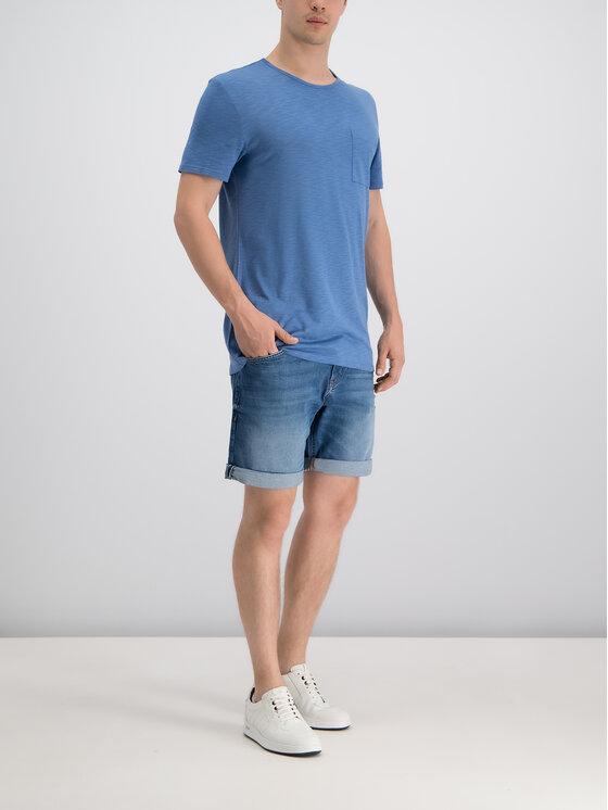 JOOP! Jeans Joop! Jeans T-Shirt 30014595 Granatowy Regular Fit