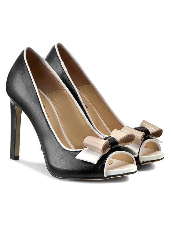 Pollini Pollini Pantofi cu toc subțire SA16219C11TM300A Negru