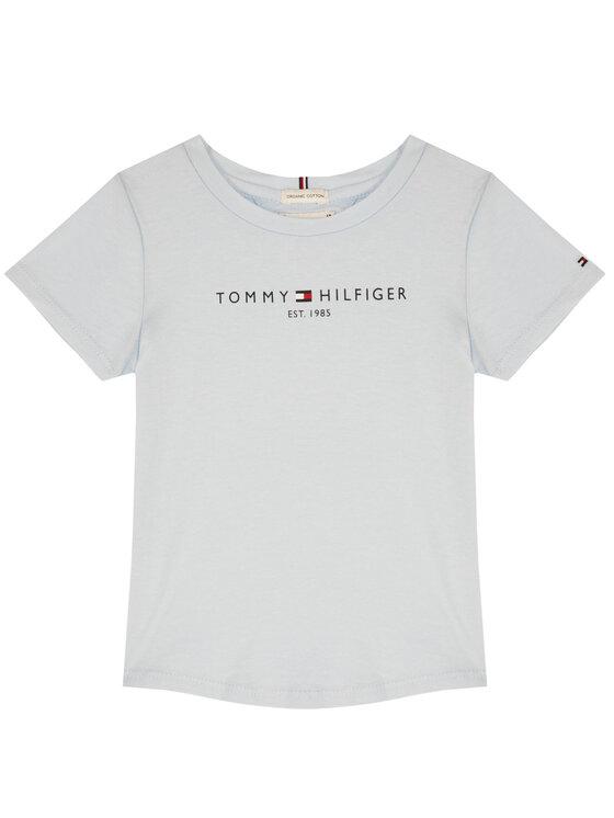 Tommy Hilfiger Tommy Hilfiger Marškinėliai Essential Tee KG0KG05023 D Mėlyna Regular Fit