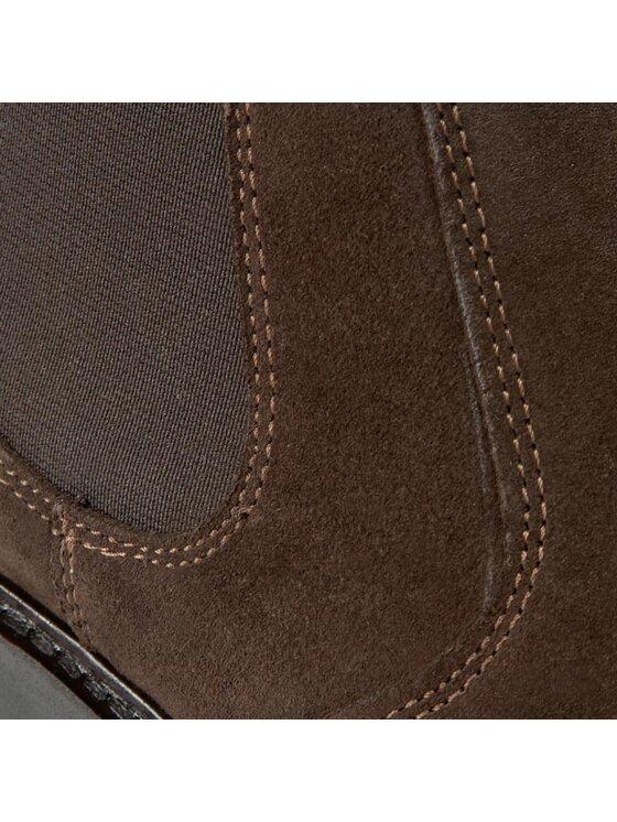 Gant Gant Μποτάκια με λάστιχο Spencer 11653702 Καφέ