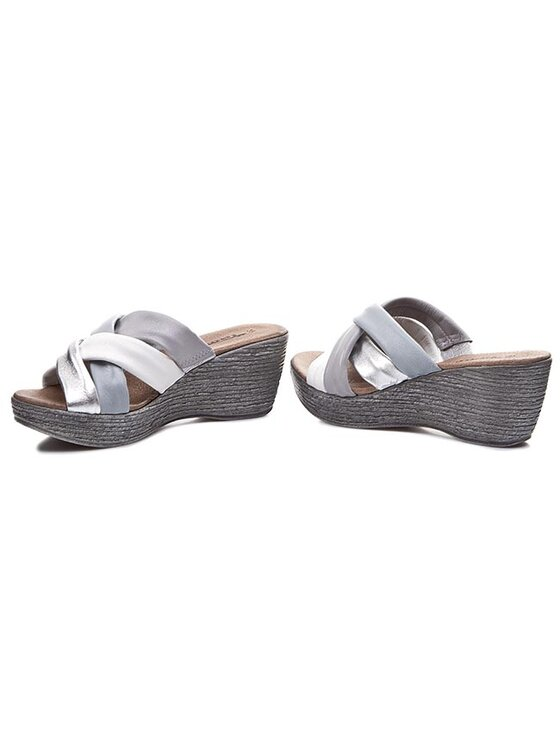 Tamaris Tamaris Mules / sandales de bain 1-27231-24 Gris