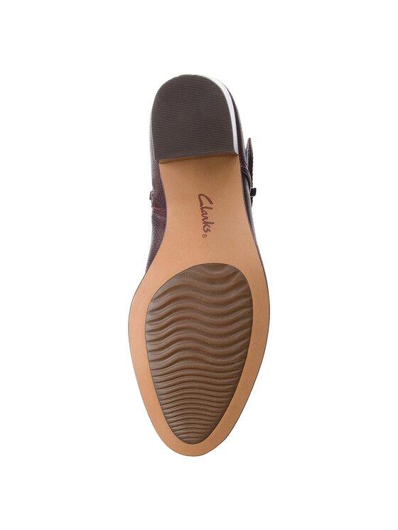 Clarks Clarks Обувки Maypearl Milla 261361484 Бордо