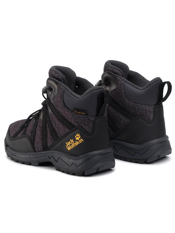 Jack Wolfskin Jack Wolfskin Turistiniai batai Thunderbolt Texapore Mid K 4036061 S Juoda