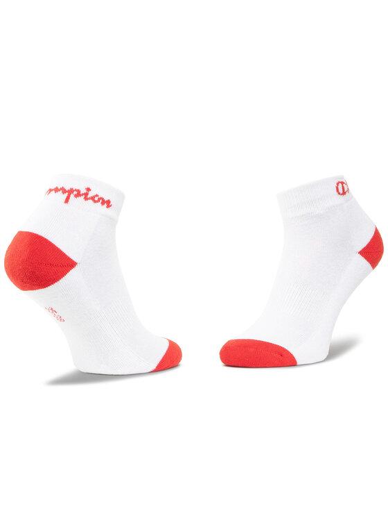Champion Champion Súprava 3 párov kotníkových ponožiek unisex CH00082D 8LZ Biela