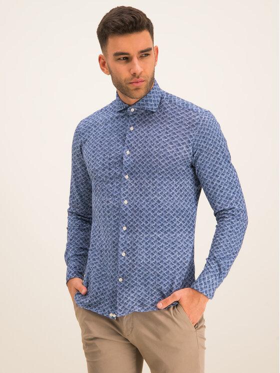 Baldessarini Marškiniai 41234/000/4982 Tamsiai mėlyna Regular Fit