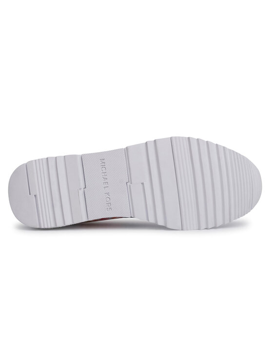 MICHAEL Michael Kors MICHAEL Michael Kors Сникърси Allie Wrap Trainer 43T0ALFP3L Бял