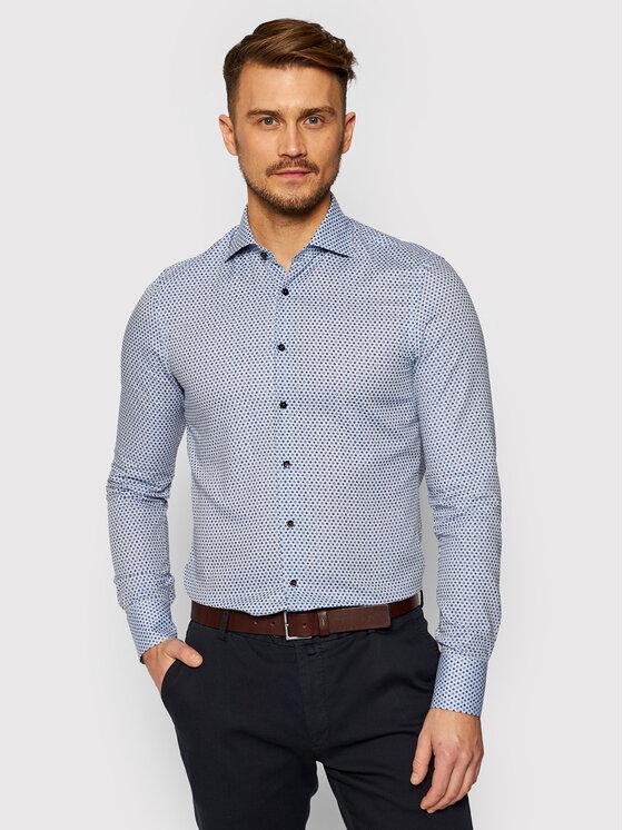 Stenströms Marškiniai 7 129 018 049 Mėlyna Slim Fit