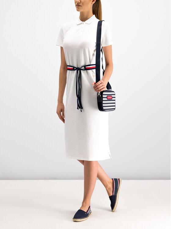 Tommy Hilfiger Tommy Hilfiger Φόρεμα καθημερινό WW0WW25372 Λευκό Regular Fit