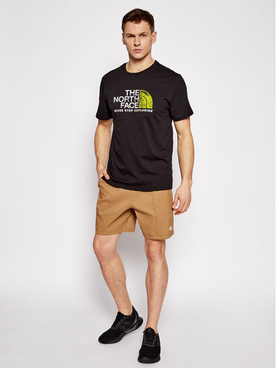 The North Face The North Face Szorty sportowe M Class V Pull On NF0A5A5X1731 Brązowy Regular Fit