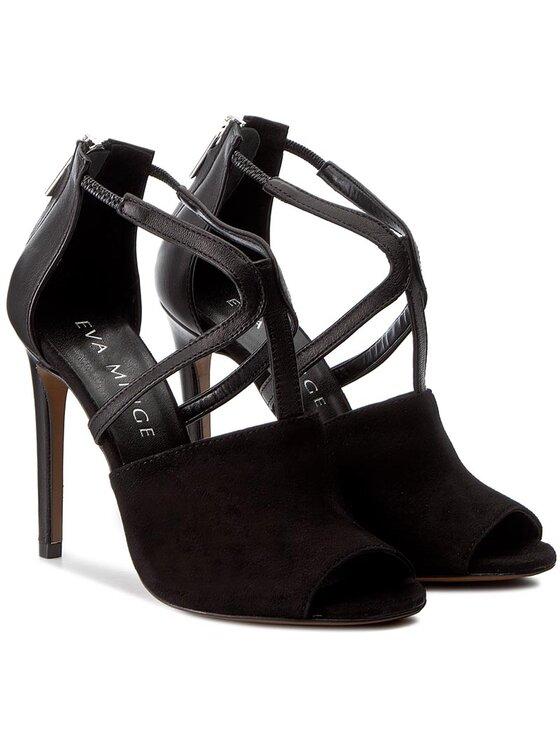 Eva Minge Eva Minge Sandále Alicia 1I 17CP1372144ES Čierna