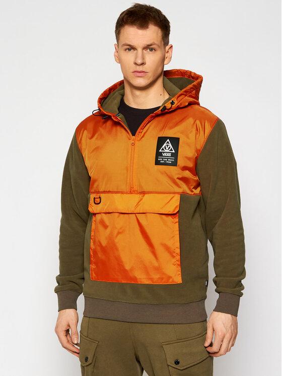 Vans Anorak stiliaus striukė Supply VN0A4RZP Oranžinė Regular Fit