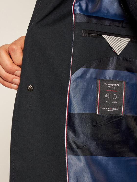 Tommy Hilfiger Tailored Tommy Hilfiger Tailored Kabát pro přechodné období Car TT0TT07525 Tmavomodrá Regular Fit