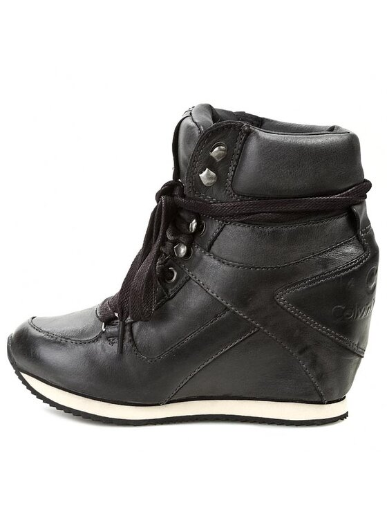 Calvin Klein Jeans Calvin Klein Jeans Sneakers Vania Tumbled Calf RE8769 Noir