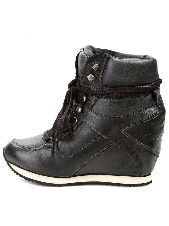 Calvin Klein Jeans Calvin Klein Jeans Sportcipő Vania Tumbled Calf RE8769 Fekete