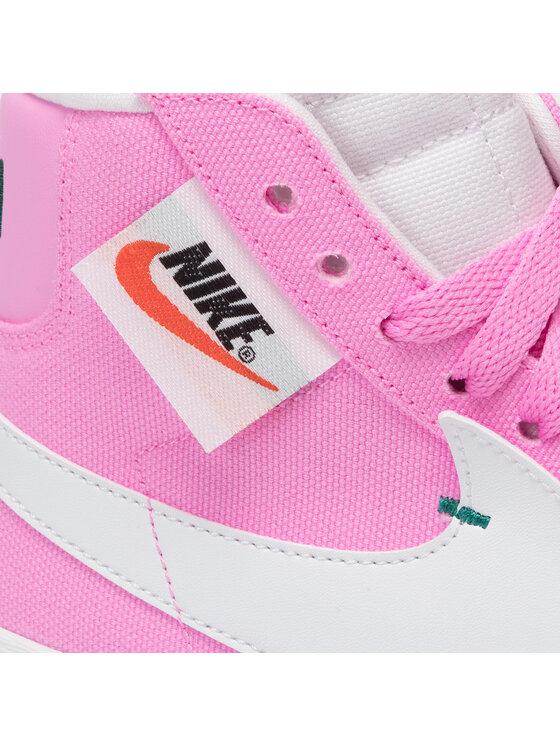 Nike Nike Buty Blazer Mid Rebel BQ4022 602 Różowy