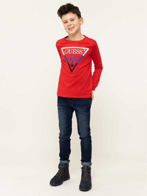 Guess Guess Sweatshirt L93I16 K82E0 Rouge Regular Fit