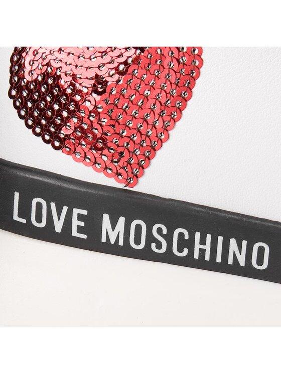 LOVE MOSCHINO LOVE MOSCHINO Sneakersy JA15202G06JA0100 Biały