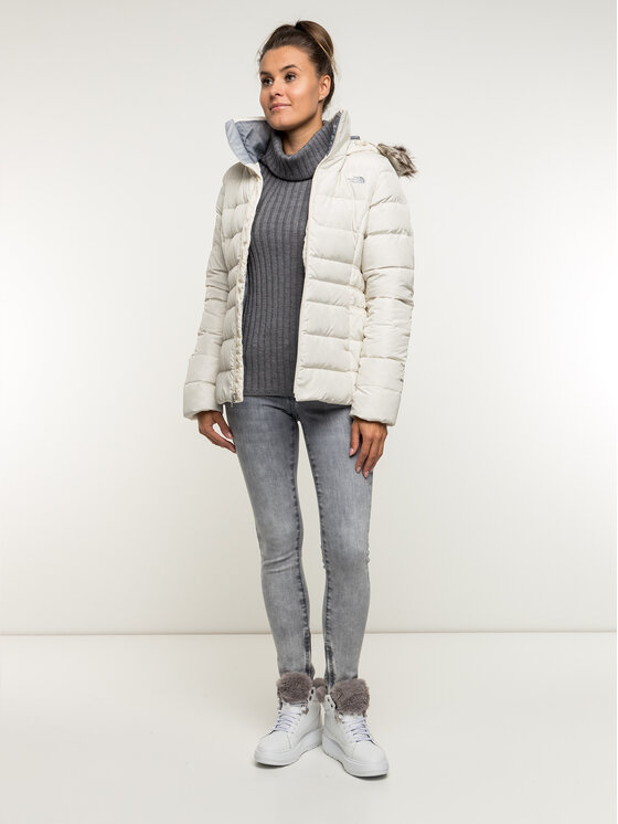 The North Face The North Face Kurtka puchowa Gothan II NF0A35BW11P Biały Regular Fit
