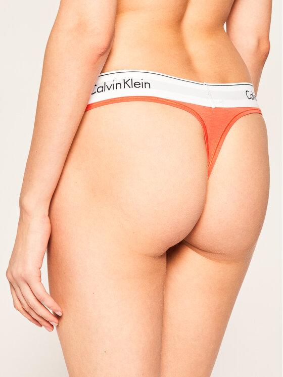 Calvin Klein Underwear Calvin Klein Underwear Siaurikės 0000F3786E Oranžinė